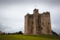 Castillo medieval del ajuste, Irlanda Imagen de archivo
