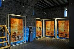 Castillo medieval del junvinya Imagen de archivo