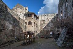 Castillo medieval en Bolkow Baje Silesia fotos de archivo