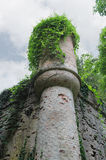 Castillo medieval en el chalet Sorra Fotografía de archivo libre de regalías