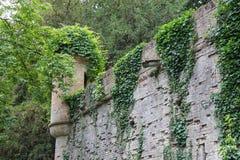 Castillo medieval en el chalet Sorra Fotografía de archivo