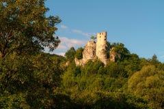 Castillo medieval Neideck foto de archivo