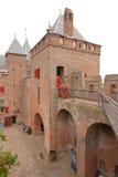 Castillo medieval real Imagen de archivo