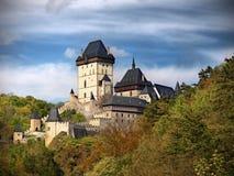 Castillo medieval real Fotos de archivo