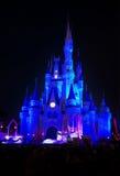 Castillo mágico del reino del mundo de Disney Foto de archivo libre de regalías