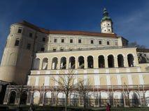 Castillo Mikulov, República Checa, Europa Imágenes de archivo libres de regalías