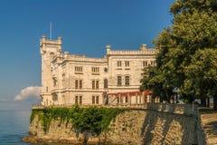 Castillo Miramare Imágenes de archivo libres de regalías