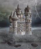 Castillo misterioso gótico Imagen de archivo