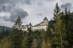 Castillo Moosham en Lungau Austria Fotografía de archivo