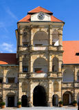 Castillo Moravska Trebova Fotos de archivo