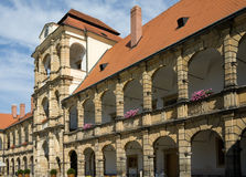 Castillo Moravska Trebova Imagen de archivo libre de regalías