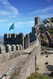 Castillo moro en el municipio de Sintra Fotografía de archivo libre de regalías