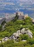 Castillo moro en Sintra Imagen de archivo libre de regalías