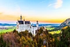 Castillo Neuschwanstein Fotografía de archivo