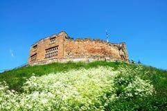 Castillo normando, Tamworth Imágenes de archivo libres de regalías