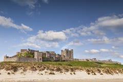 Castillo Northumberland Inglaterra de Bamburgh imágenes de archivo libres de regalías