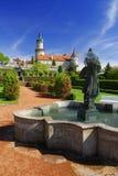 Castillo Nove Mesto nad Metuji Fotografía de archivo libre de regalías