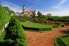 Castillo Nove Mesto nad Metuji Imagen de archivo libre de regalías