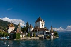 Castillo Oberhofen Fotos de archivo