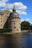 Castillo Orebro, Suecia imagen de archivo libre de regalías