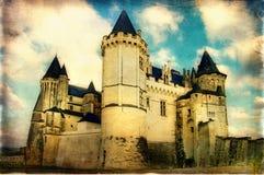 Castillo oscuro foto de archivo