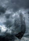 Castillo oscuro Imagen de archivo libre de regalías