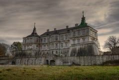 Castillo oscuro HDR Fotografía de archivo libre de regalías