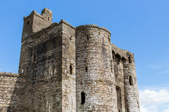 Castillo País de Gales de Kidwelly Imagenes de archivo