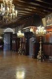 Castillo, palacio y castillo de Nesvizh Imagenes de archivo