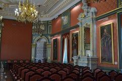 Castillo, palacio y castillo de Nesvizh Imagen de archivo