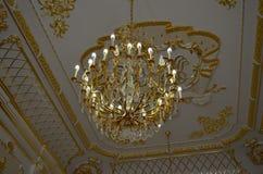 Castillo, palacio y castillo de Nesvizh Foto de archivo libre de regalías