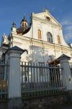 Castillo, palacio y castillo de Nesvizh Imágenes de archivo libres de regalías