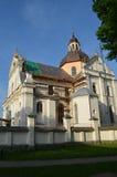 Castillo, palacio y castillo de Nesvizh Fotos de archivo libres de regalías