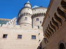 Castillo para Eslovaquia Bojnice Foto de archivo