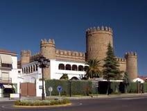 Castillo - parador de turismo de Zafra Image libre de droits