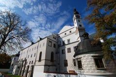 Castillo Pardubice fotografía de archivo