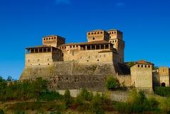 Castillo Parma de Torrechiara Foto de archivo libre de regalías