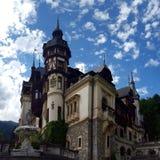 Castillo Peles en Rumania foto de archivo