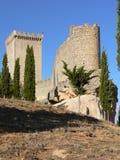 Castillo, Penaranda de Duero ( Spain ). Peñaranda de Duero Castle, Burgos Province, Castile and Leon (Spain Stock Photo