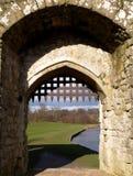 Castillo Portcullis Imagenes de archivo