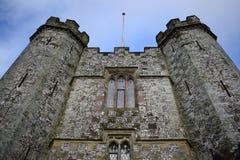 Castillo que vigila Foto de archivo libre de regalías
