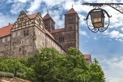 Castillo Quedlinburg Fotografía de archivo