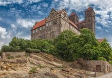 Castillo Quedlinburg Foto de archivo