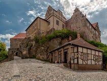 Castillo Quedlinburg Fotografía de archivo libre de regalías