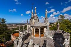 Castillo Quinta da Regaleira - Sintra Portugal fotografía de archivo