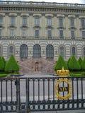 Castillo real de Estocolmo fotos de archivo