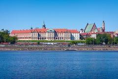 Castillo real de Varsovia Fotografía de archivo libre de regalías