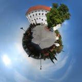 Castillo real en Sandomierz, Polonia Fotografía de archivo