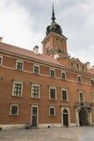 Castillo real en Varsovia en un día de verano, Polonia Imagenes de archivo