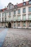 Castillo real en Varsovia en un día de verano, Polonia Imágenes de archivo libres de regalías